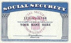 Make Novelty Social Security Card Driver License Or Modify Document