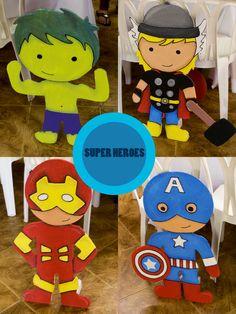SUPER HEROES ICOPOR