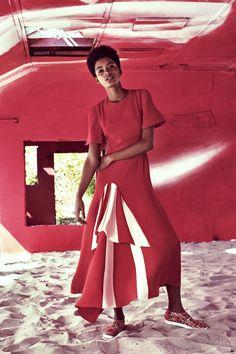 Cool in Crimson