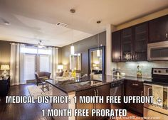 """Deal of the Day: MEDICAL DISTRICT: 1 MONTH FREE UPFRONT and 1 MONTH FREE PRORATED. Units start at $1090. Paying 100% commission which as a thank you we will give you 1/2 of what we earn on your lease. Text: DEAL"""" to 214-308-1807 for more info.  Don't forget to put down """"Help Urself Leasing"""" when filling out ur lease application to get back 50% of the commission we earn from ur referral. Check out our website for details.  #leasing #rent #realestate #apartmentlocator #apartments #condos…"""