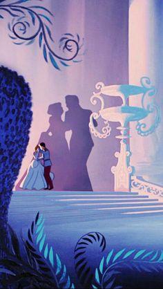 Cinderella: we do realize that the shadow behind prince charming and Cinderella . Disney Magic, Disney Art, Cinderella Disney, Cinderella Prince, Cinderella And Prince Charming, Disney E Dreamworks, Disney Pixar, Disney Phone Wallpaper, Cartoon Wallpaper