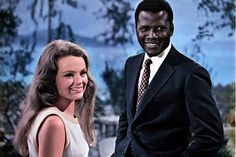 """The first (I think) interracial movie - Sidney Poitier & Katherine Hepburn in """"Guess Whos Coming to Dinner"""" My favorite Lines were delivered by """"Beah Richards"""" Love Movie, Movie Stars, Movie Tv, Elvis Presley, Classic Hollywood, In Hollywood, Movies Worth Watching, Interracial Love, Chef D Oeuvre"""