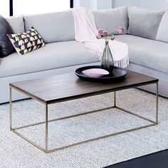 3 coffee table hacks   west elm   small space living   pinterest