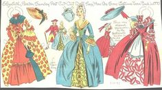 GROUP OF UNCUT LUCY ELEANOR LEARY NEWSPAPER PAPER DOLLS 1947