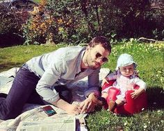 ❤️❤️❤️. Jamie and his daughter, so cute!!!