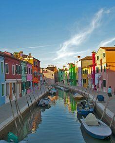 Burano - Fischerinsel in der Nähe von Venedig.