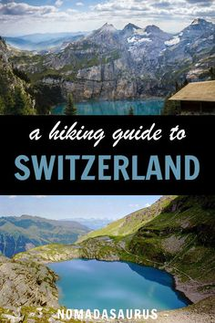 guide to hiking Switzerland!Ultimate guide to hiking Switzerland! Hiking Routes, Hiking Europe, Hiking Guide, Cool Places To Visit, Places To Go, Switzerland Vacation, Hiking Photography, Travel Activities, Best Hikes