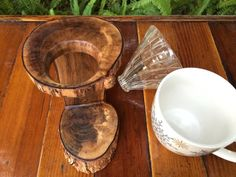 Redemption Woodwork Willow Tree Pour-Over Stand