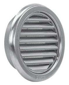 Circle Stainless Steel Air Vent Grille Cover Metal Ventilation Cover in… Stainless Steel Sheet, Extractor Fans, Vent Covers, Air Vent, Building Materials, Metal, Brushes, Flat, Accessories