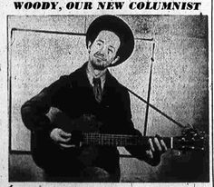 """From KCET """"From Lincoln Heights to Los Feliz: Woody Guthrie's Time in Los Angeles 