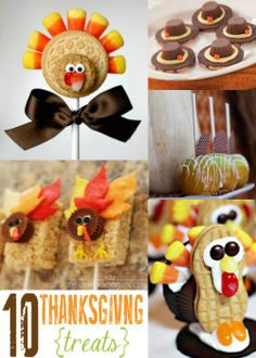 10 Thanksgiving Treats - Click image to find more DIY  Crafts Pinterest pins