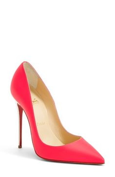 Christian+Louboutin+'So+Kate'+Pointy+Toe+Pump+(Women)+available+at+#Nordstrom