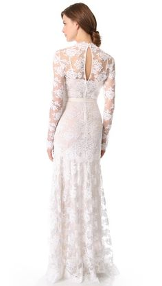 Gorgeous lace gown by Temperley London