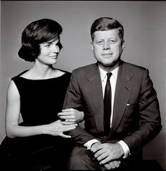 The Kennedys: Portrait of a family (by Richard Avedon).  Jack Kennedy was THE political icon of the 1960s, especially after his tragic death.  His brother Bobby and Martin Luther King, Jr. were close runners up.  All three died by assassins' hands.