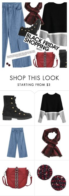 """""""Steal Those Deals: Black Friday"""" by pokadoll ❤ liked on Polyvore featuring Jimmy Choo and Whiteley"""
