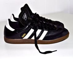 Black shoes leather ADIDAS 1980s Indoor adidas and 1980s SNEAKERS Soccer Samba Shoes zUwvxq