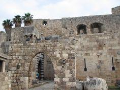 [Trípoli]. Em 1180, a trégua de dois anos acordada entre Balduíno IV e Saladino; excluiu Trípoli. Saladino agora invadia a região. O Conde Raimundo logo tratou de arranjar uma trégua também.