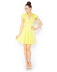 Fantastic Faux Wrap Dress from Betsey Johnson $98,00