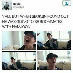 *whispers*...Namjin...