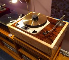 Audio Grail Garrard 301 in Cusworth plinth