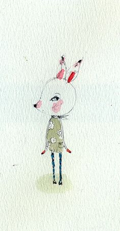 Paola Zakimi: little girl deer