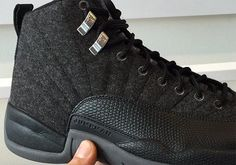 This is the official launch page for the Air Jordan 12 Wool where you'll find the latest images, release information, and other updates.
