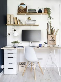 little home office ideas you need to see for 2019 - for . - little home office ideas you need to see for 2019 little home office ideas you need to see for 2019 - for . - little home office ideas you need to see for 2019 - Ikea Home Office, Home Office Organization, Home Office Space, Home Office Design, Office Designs, Small Office, Study Room Decor, Room Ideas Bedroom, Office Wall Decor
