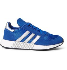 new style e073e 83442 ADIDAS ORIGINALS Marathon 5923 Mesh and Suede Sneakers. adidasoriginals  shoes