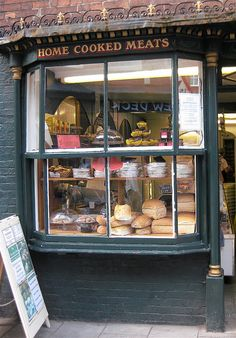 Shop window in England~Ashbourne, Derbyshire by wonky knee, via Flickr~UK