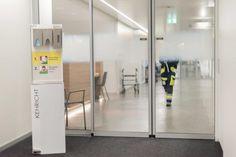 Hygienestation P-Serie, Hygienekonzept, Hygiene Display Maske2Go Led, Divider, Display, Room, Furniture, Home Decor, Waste Container, Retail, Concept