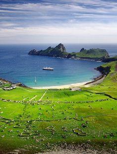 St. Kilda archipelago, featuring the Dragon's Tail, Scotland ♡