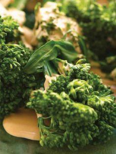 Kosher Broccolini in a Creamy Wine Balsamic Sauce Recipe