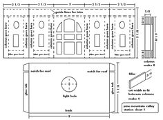 Glitter House Plans | Double-click on this image to see a higher resolution pattern.