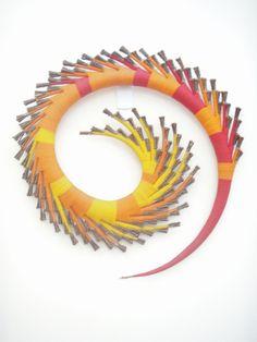 2007 by Australian artist Diablo Mode Morning Sun, Australian Artists, Pine, Sculpture, Decor, Devil, Pine Tree, Dekoration, Decoration