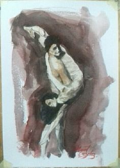 Practicando Painting, Art, Water Colors, Art Background, Painting Art, Kunst, Paintings, Performing Arts, Painted Canvas