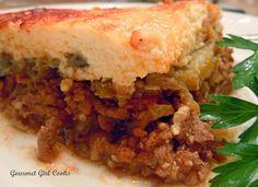 Gourmet Girl Cooks: When Life Hands You Eggplants...Make Moussaka
