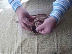 Knitting from paper, madeira Pletenie z papiera, uzávierka - madeira