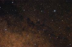 Nebulosa LDN 604. Es una nebulosa oscura densa en la constelación del Águila