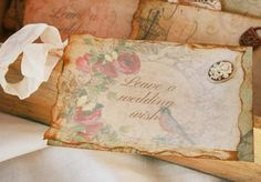Wedding Guest Book Alternative  Leave us a by youruniquescrapbook, £75.00