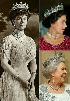 Different times, same crown tiara
