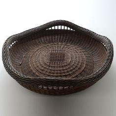 Twined Wall Basket by Peeta Tinay