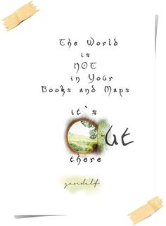 LOTR+Quote+POSTER+Print+GANDALF+Motivational+Wall+by+POTAPOTA,+£9.99