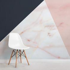 Marble Effect Wallpaper, Geometric Wallpaper Murals, Navy Wallpaper, Contemporary Wallpaper, Print Wallpaper, Wallpaper Toilet, Kitchen Wallpaper, Wallpaper Designs, Textured Wallpaper