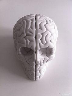 Мозг в виде черепа - картинки, аватары, авы