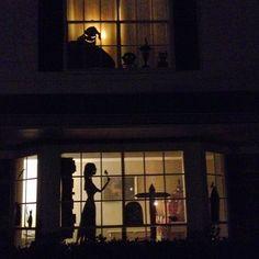 Nightmare Before Christmas Halloween window 2.