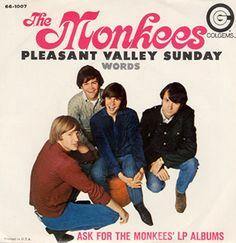 Pleasant Valley Sunday/Words single
