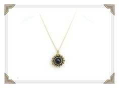 Dramatic yet simple, this gorgeous rivoli pendant necklace is all hand woven. The medallion is made using several techniques to surround a Swarovski crystal rivoli stone, and dangles gracefully from an 18 inch gold filled necklace with a lobster claw clasp. Adds a bit of mystery and intrigue to any outfit!