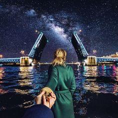 Наталья и Мурад Османн рассказали, где в Петербурге сделать фото, которые наберут тысячи лайков.