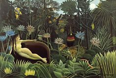 Henri Rousseau,Le rêve,© MOMA, New York/Scala, Florence