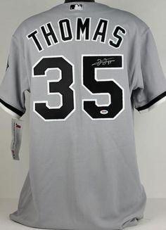 Frank Thomas Autographed Jersey - PSA DNA  SportsMemorabilia   ChicagoWhiteSox d944520d7